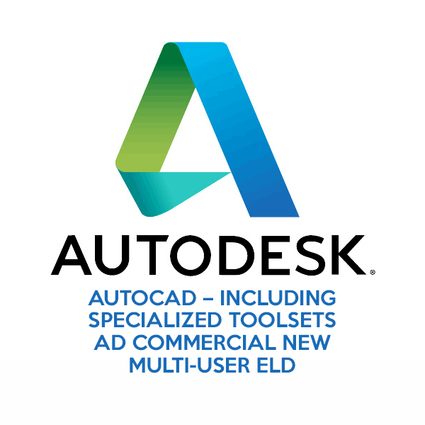 AutoCAD – Including Specialized Toolsets Ad Commercial New Multi-User ELD